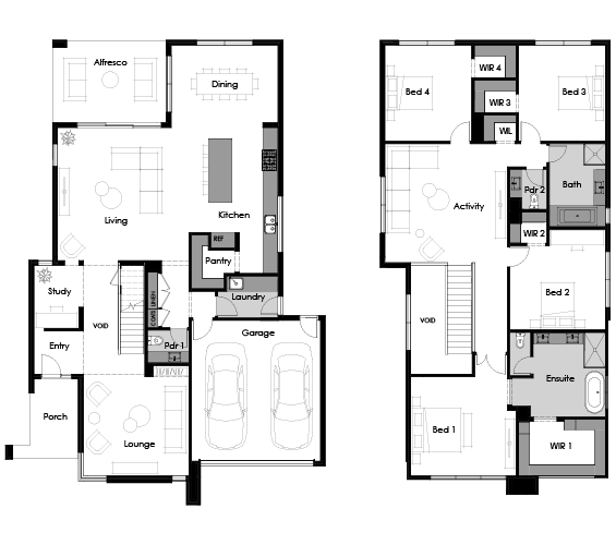 Floor plan for Como 40