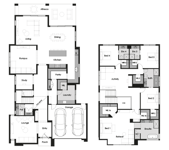Floor plan for Tate 52