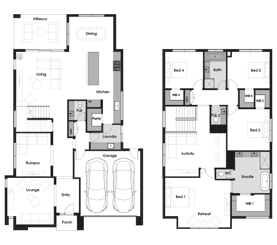 Floor plan for Evoke 39