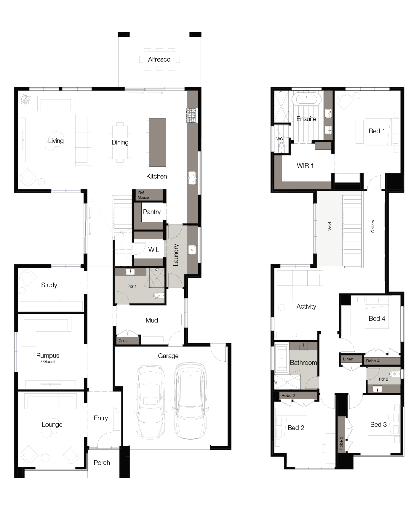 Floor plan for Hive