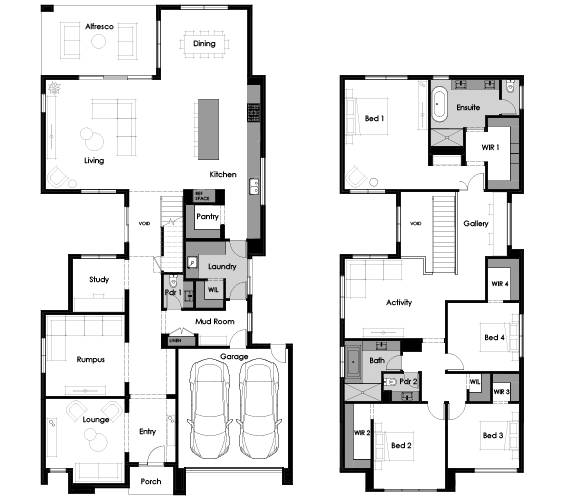 Floor plan for Hive 46