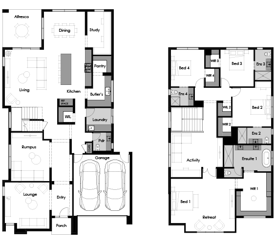 Floor plan for Que 44