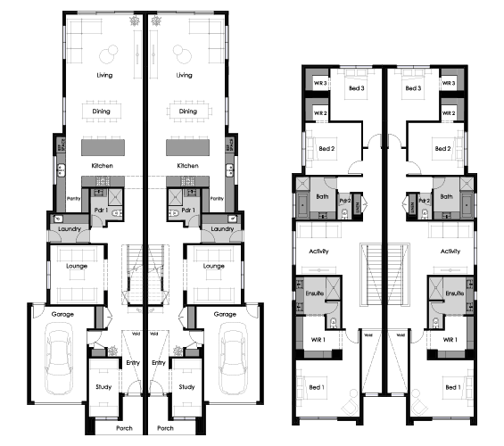 Floor plan for Emerson
