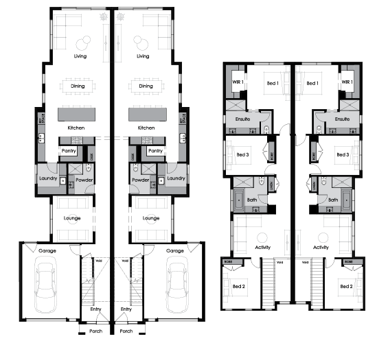 Floor plan for Luna