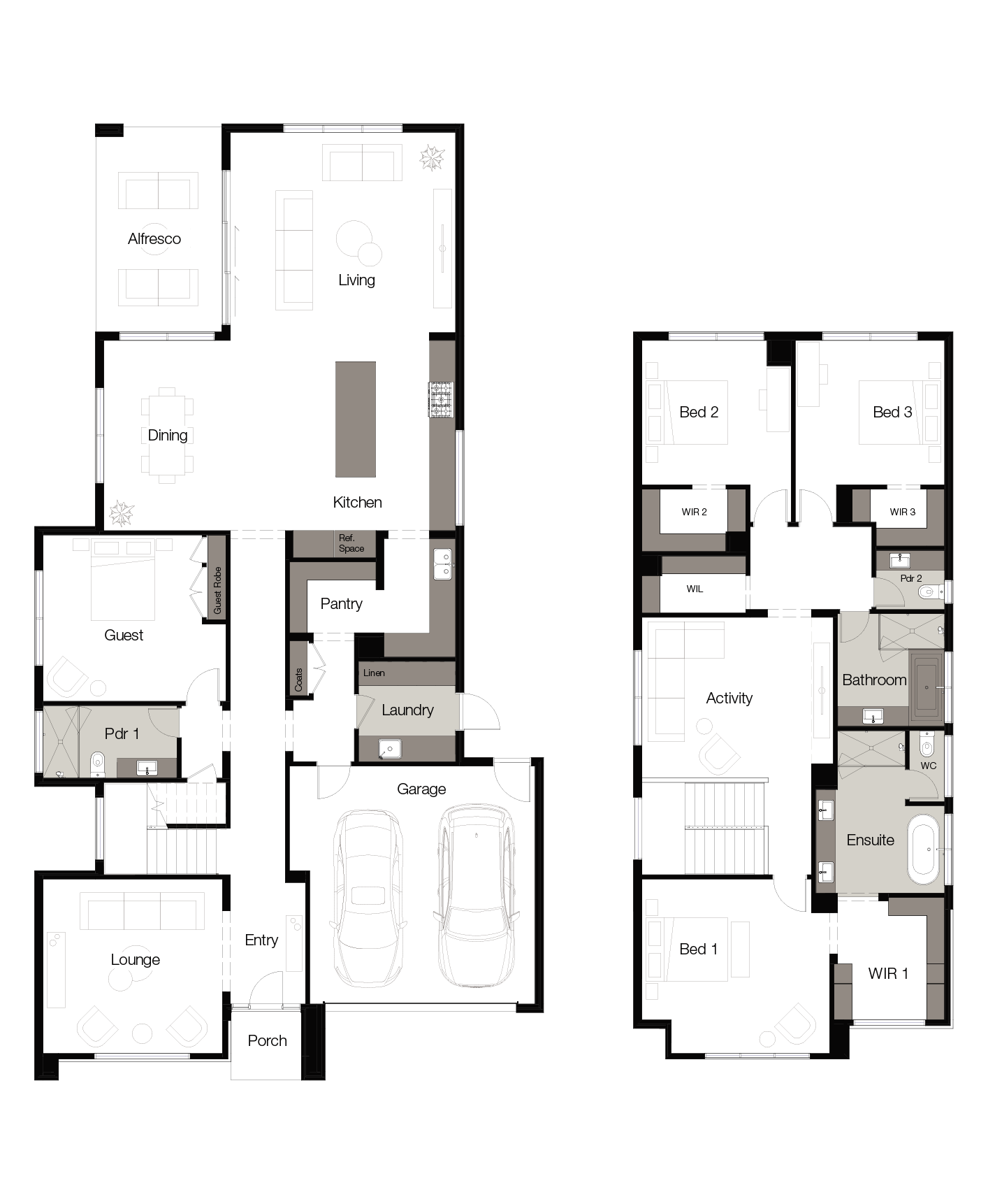 Floor plan for Ayana